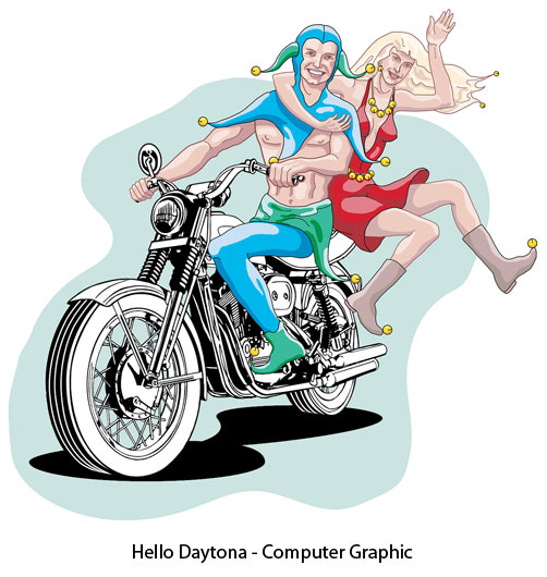 hellodaytona-computergraphic