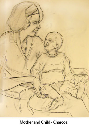 motherandchild-charcoal