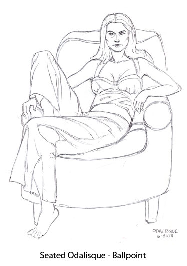 womansittingodalisque-ballpoint2003