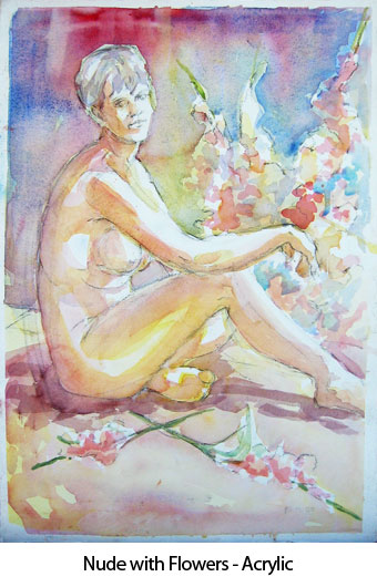 nudewithflowers-watercolor2000-2005